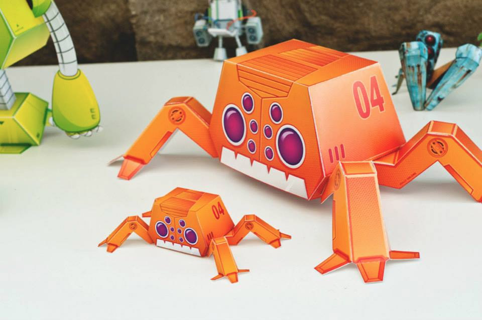 Paper Robots: 25 Fantastic Robots You Can Build