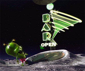 Spacebar: An Alien's Night Out is Ruined by NASA