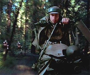 Star Wars: Making the Endor Speeder Bike Scene
