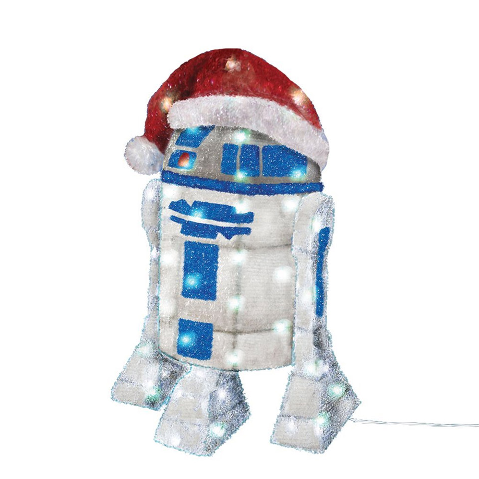 Star Wars 28″ R2-D2 Lighted Christmas Decoration