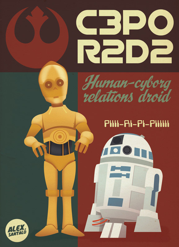 Star Wars Rebel Alliance Heroes Posters