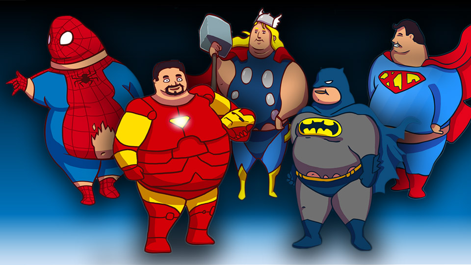 Supersized Heroes: Stuff 'Em with Fries