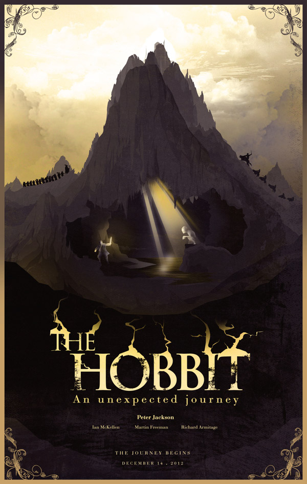 Alternative Movie Posters for The Hobbit and LOTR