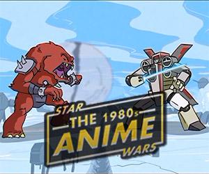 Star Wars as a 1980s Anime Series