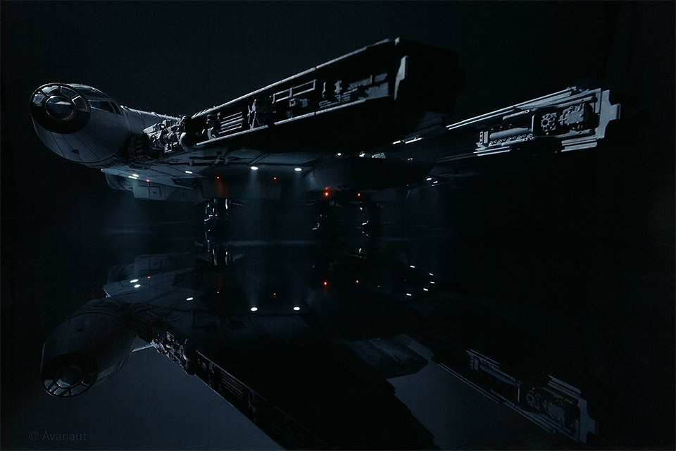 amazing star wars spaceship images by avanaut mightymega. Black Bedroom Furniture Sets. Home Design Ideas