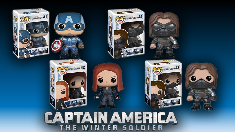 Captain American The Winter Soldier Pop! Vinyls