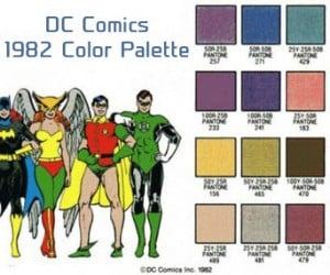 Old School Comic Book Heroes Color Sheet