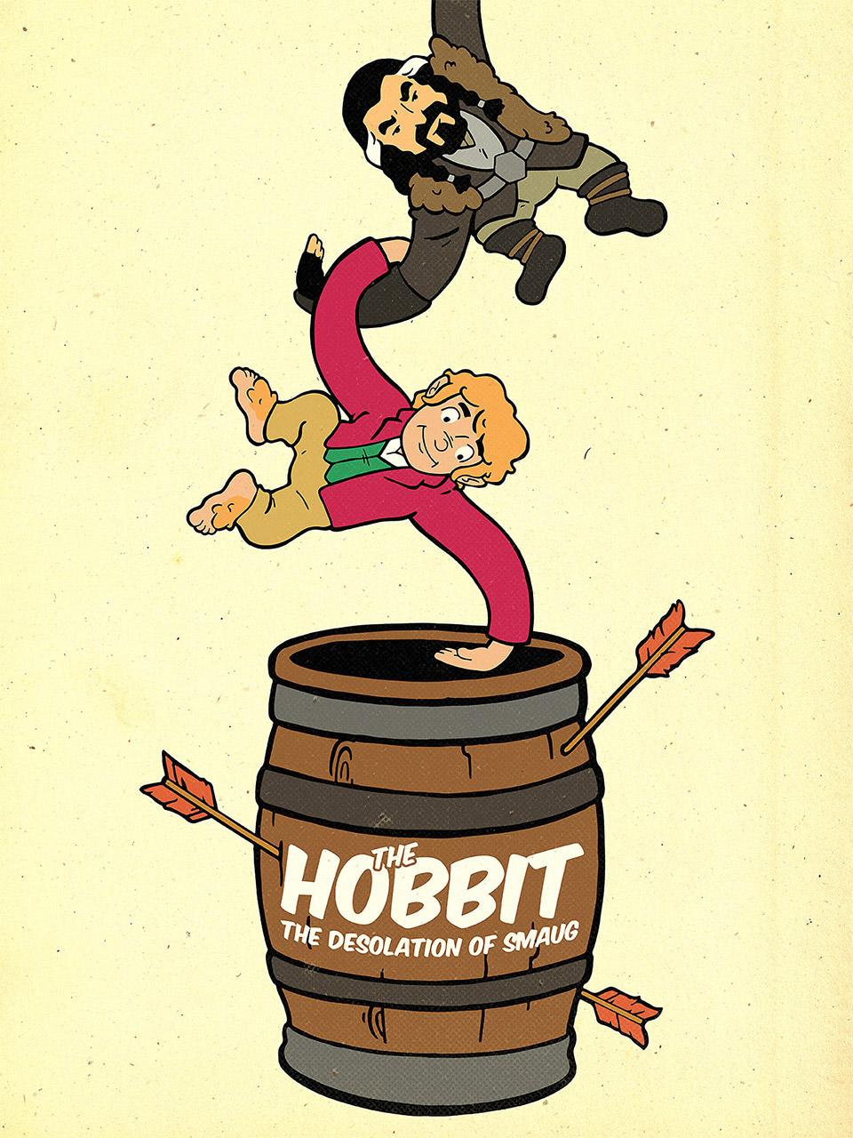 The Hobbit: The Desolation of Smaug Barrel of Monkeys