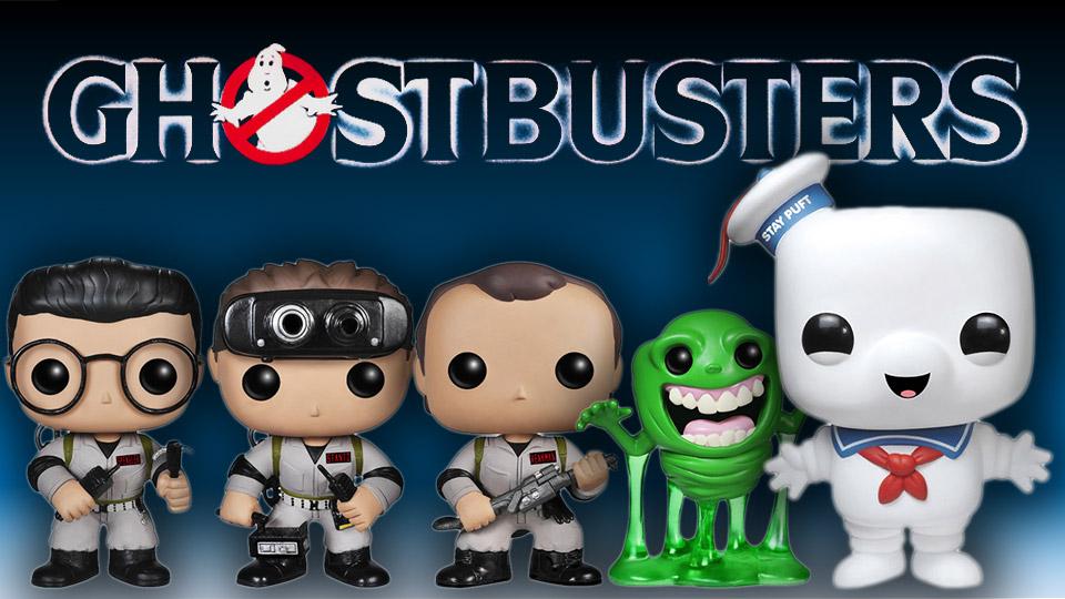Amazing Ghostbusters Pop! Vinyl Figures