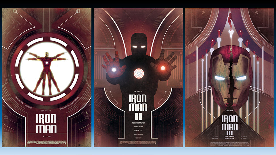 Iron Man Trilogy Alternative Movie Posters