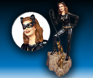 Catwoman 1:8 Scale Collectible from 1966 Series
