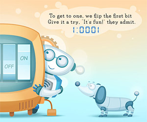 Teach Your Kids to Count in Binary: Kickstarter Project