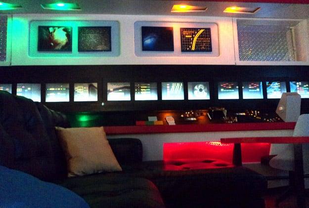 Girl Spends 30 000 Creating A Star Trek Home Mightymega