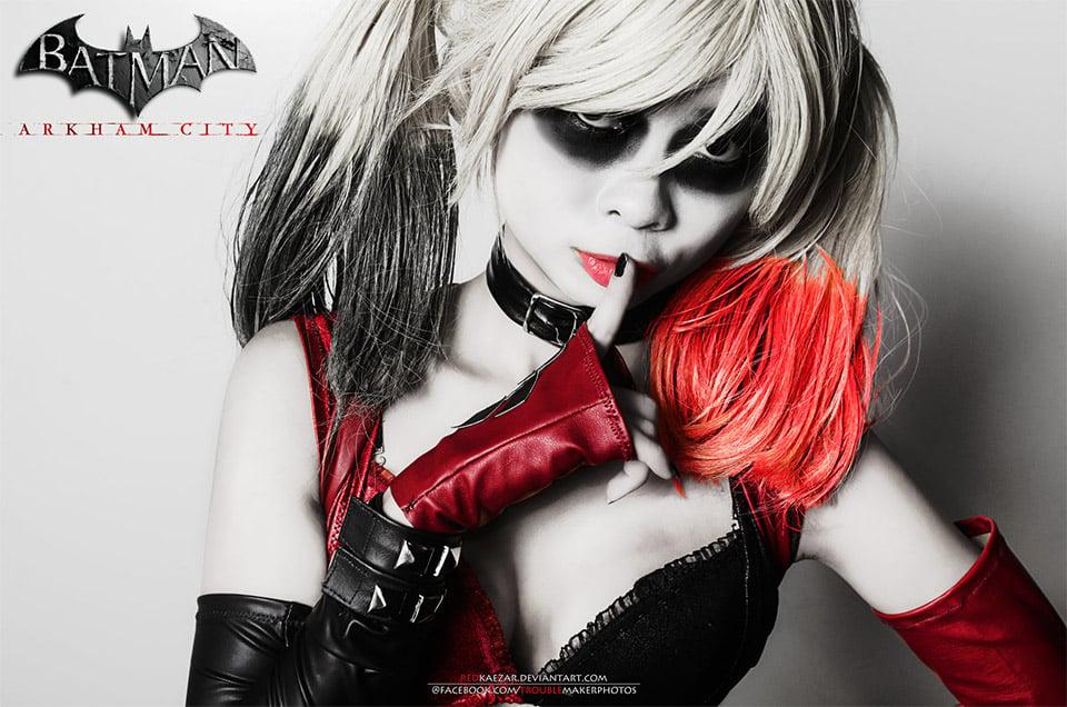 Fantastic Harley Quinn Cosplay