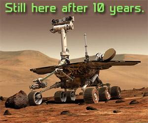 NASA Salutes 10 Years of the Mars Rover Program