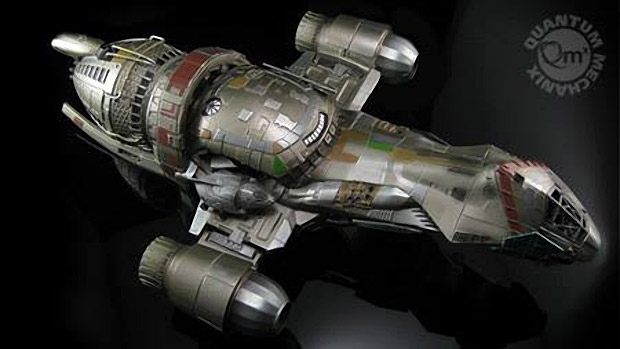 Incredible Firefly Serenity 1:250 Scale Cutaway Replica