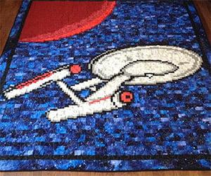 Star Trek: U.S.S. Enterprise Quilt