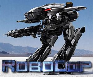 Robocop: Battling the ED-209 Attack Robots