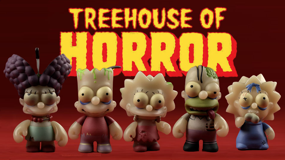 The Simpsons Treehouse of Horror Zombies