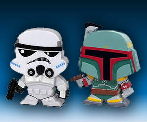 Star Wars Blox Bobble Heads