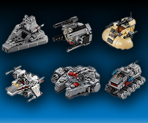Star Wars LEGO MicroFighters