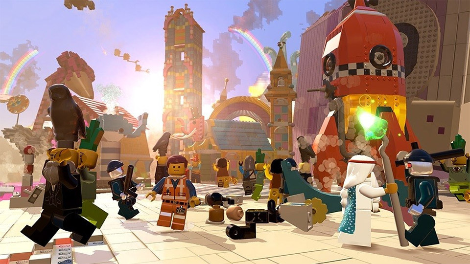 The LEGO Movie Video Game: First Trailer - MightyMega