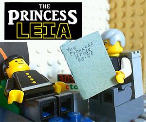 The Princess Leia: A LEGO Princess Bride/Star Wars
