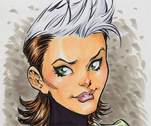 Todd Nauck: Speed Drawing Rogue