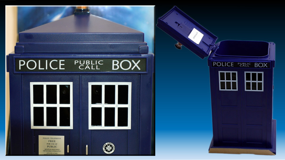 Doctor Who TARDIS Cookie Jar with Camera