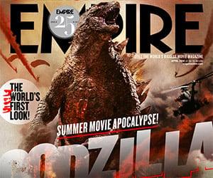 Empire Magazine Cover Reveals Godzilla
