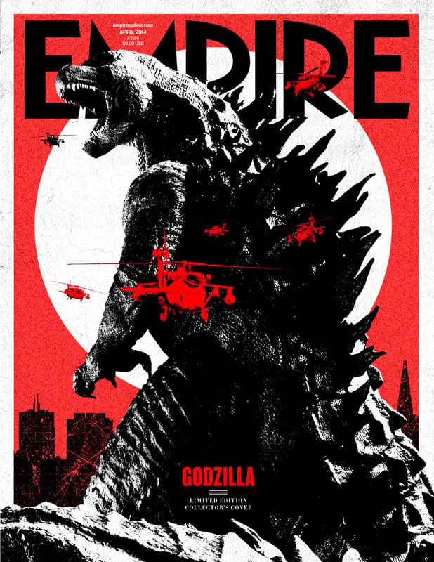 Empire Magazine's Awesome Godzilla Cover
