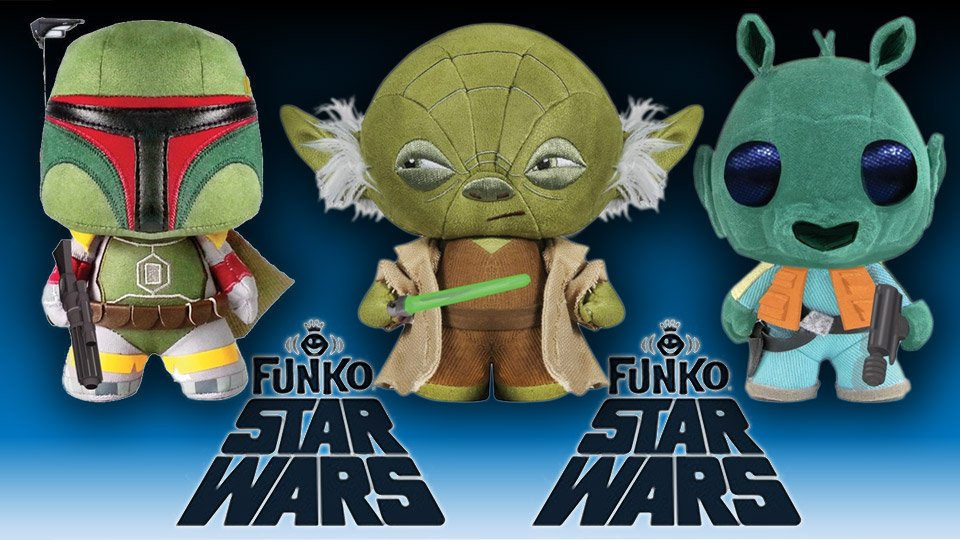 Funko Star Wars Fabrikations Soft Sculptures