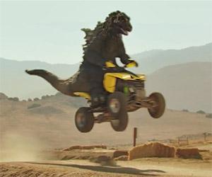 Godzilla's Pretty Cool, Except When He's Hungry