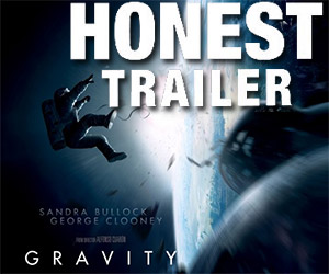 An Honest Trailer for Gravity
