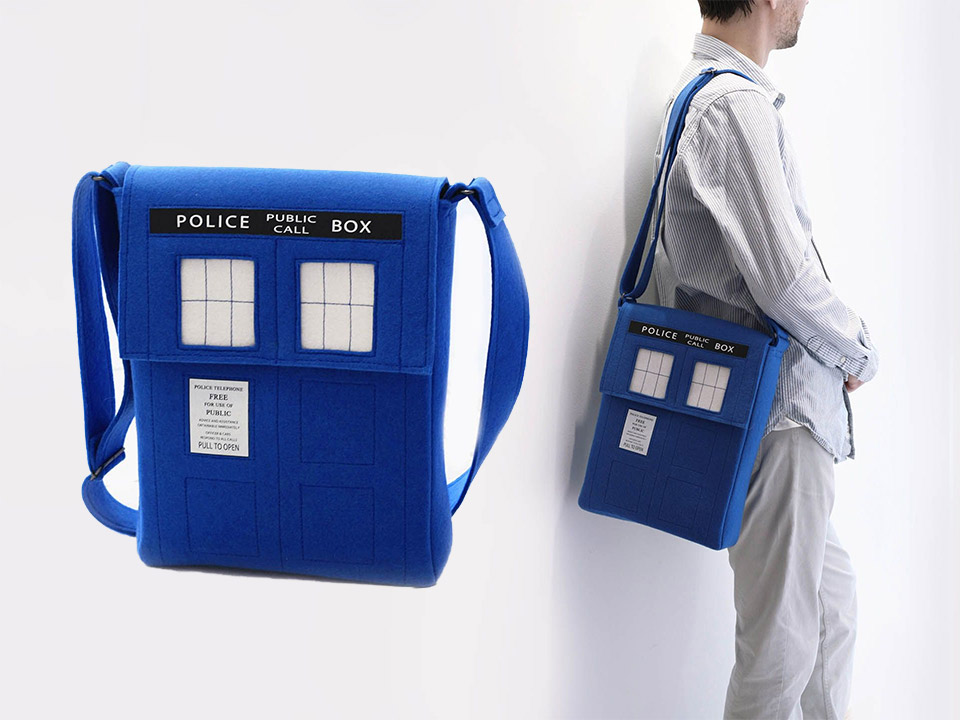 Terrific Doctor Who TARDIS and Dalek Bags