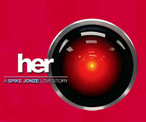 What if the HAL 9000 Was the OS in the Film Her?