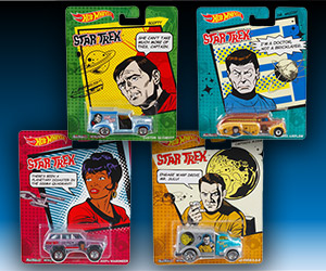 Hot Wheels Pop Culture: Star Trek Mix