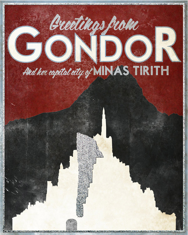 Lord of the Rings: Travel Posters