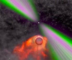 NASA: A Black Widow Pulsar Consumes Its Mate