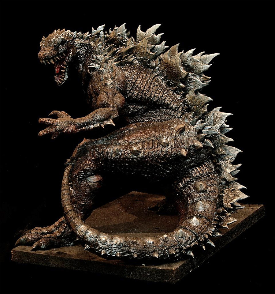 Incredible One-of-a-Kind Godzilla Figure