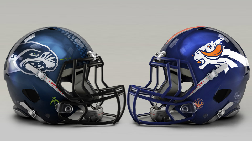Star Wars NFL Football Team Franchises