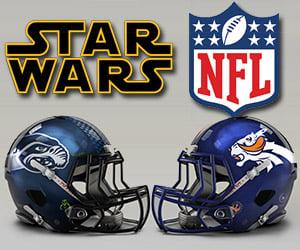 Star Wars NFL Football Team Franchises