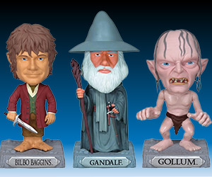 The Hobbit Wacky Wobbler Bobble Heads