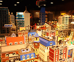 Visiting The LEGO Movie Set from Finn's Basement