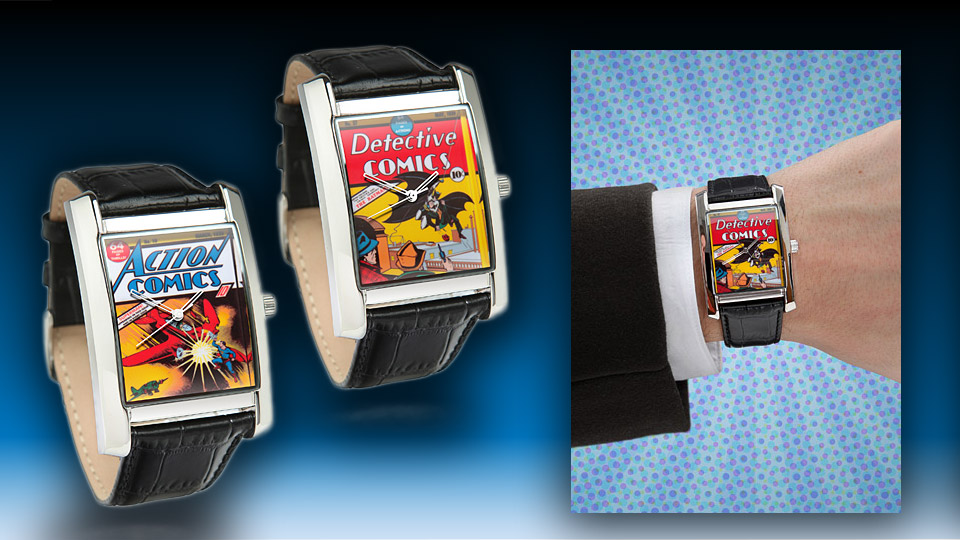 Awesome Retro DC Comic Book Watches