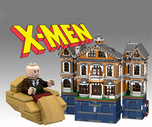 Support this LEGO CUUSOO X-Men Mansion
