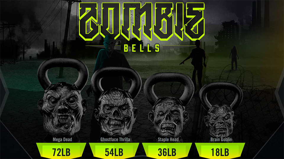 Limited Edition Zombie Bell Weights