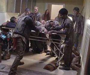 The Walking Dead: Making of Episode 413