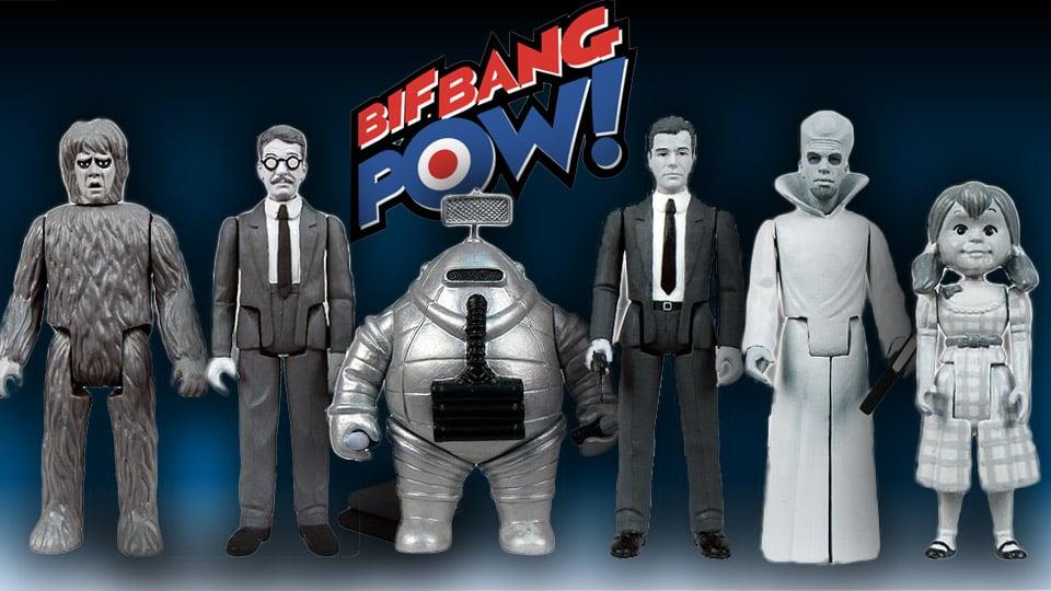 Terrific Retro Bif Bang Pow! Twilight Zone Action Figures