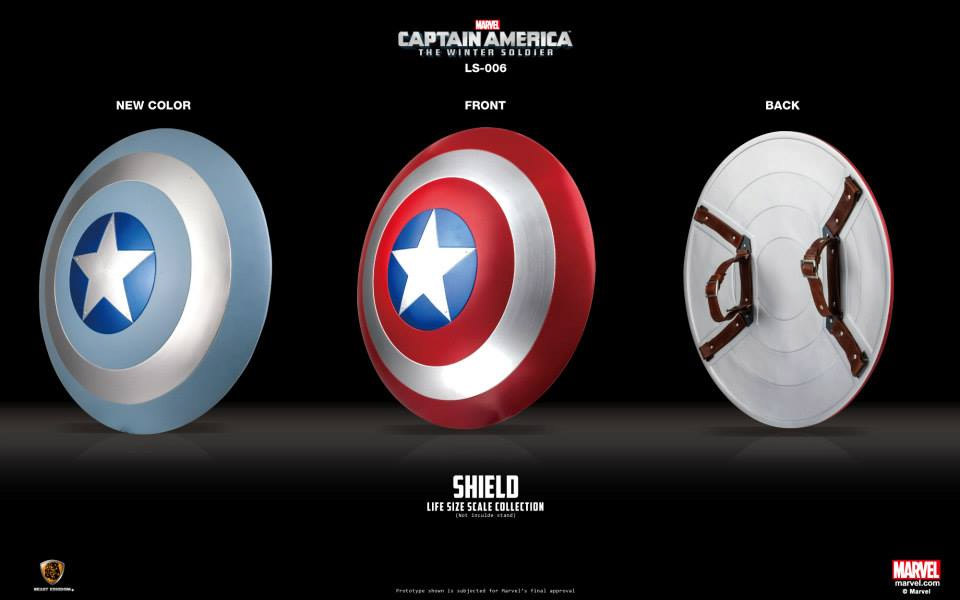 Captain America: Life-Sized Replica Shields